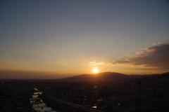 夕景から夜景1