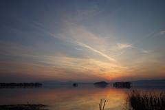 夕暮れ琵琶湖4