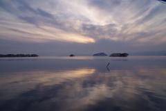 琵琶湖夕景5
