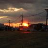 雨上がりの夕焼け 2