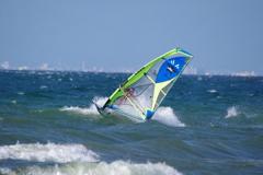 琵琶湖で風と波1