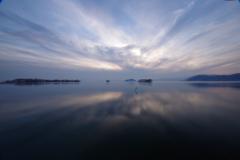 琵琶湖夕景6