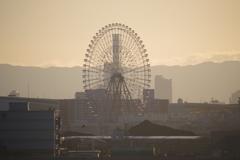 大阪夜明け4