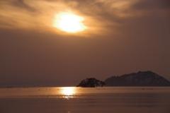 琵琶湖夕景3