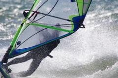 琵琶湖で風と波2