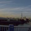 横十間川の夕暮れ
