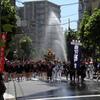消防隊の応援