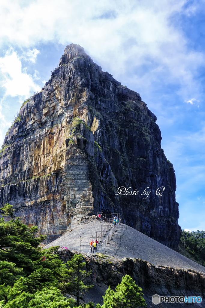 世紀奇峰 大霸尖山 3492m