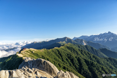 日本一番美しい稜線 表銀座縦走り