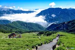 合歓東峰 3421メートル 途中