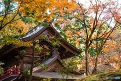 山寺の晩秋-3