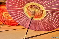 昭和レトロ(番傘)