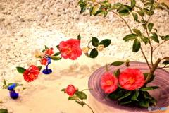 椿による花会議