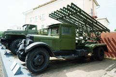赤軍博物館-02 Катюша БМ-13