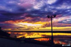 Sunset at ZAIMKA 2/3