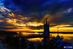 Sunset at ZAIMKA 1/3
