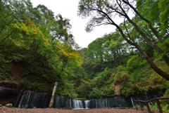 白糸の滝(軽井沢)⑧歪曲テスト