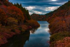 2017 水沼ダムの紅葉