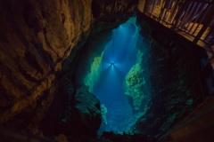 地底湖…その名はドラゴンブルー