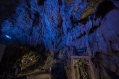 龍泉洞の鍾乳石