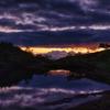 八方池の朝