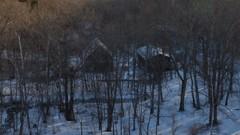 冬の別荘地