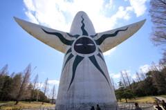 太陽の塔(後ろ姿)