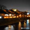 金沢主計町(かぞえまち)夜景手持ちモード撮影