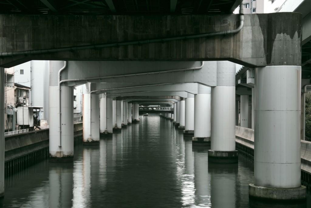 安堂寺橋から東横堀川を眺めて by グリーンマン (ID:8540037 ...