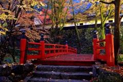 横蔵寺ライトアップⅢ