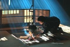 奥谷囲炉裏の光Ⅱ