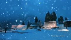 雪の五箇山Ⅱ