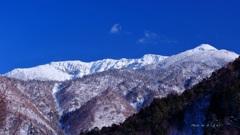 雪山の景観