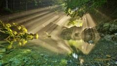 円原の光芒(奇跡の瞬間Ⅱ)