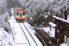 樽見鉄道 冬の旅
