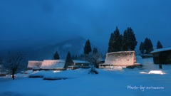冬の五箇山Ⅱ