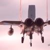 岐阜基地F-15 夕日に向かって