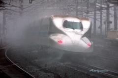 冬●米原駅
