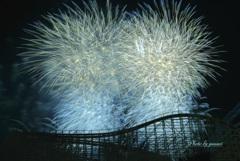 長島花火●夏の終わりⅢ