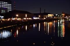 運河のあかり(そのⅡ)