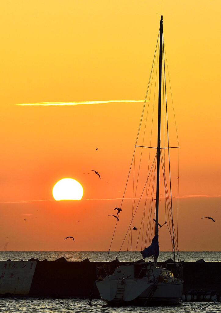 陽が昇るころ