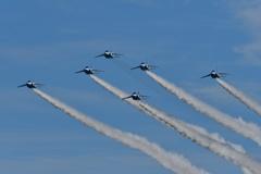 Blue Impulseの展示飛行9