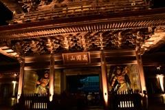 国宝瑞龍寺夜の祈り