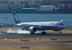 羽田空港第1ターミナルにて!