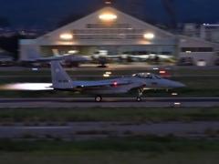 夜間飛行訓練3