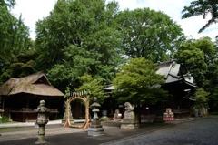 玉敷神社の茅の輪