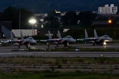 夜間飛行訓練2