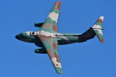 C-1の機動飛行