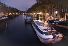 運河の街 夜明け前10