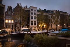運河の街 夜が明けて3